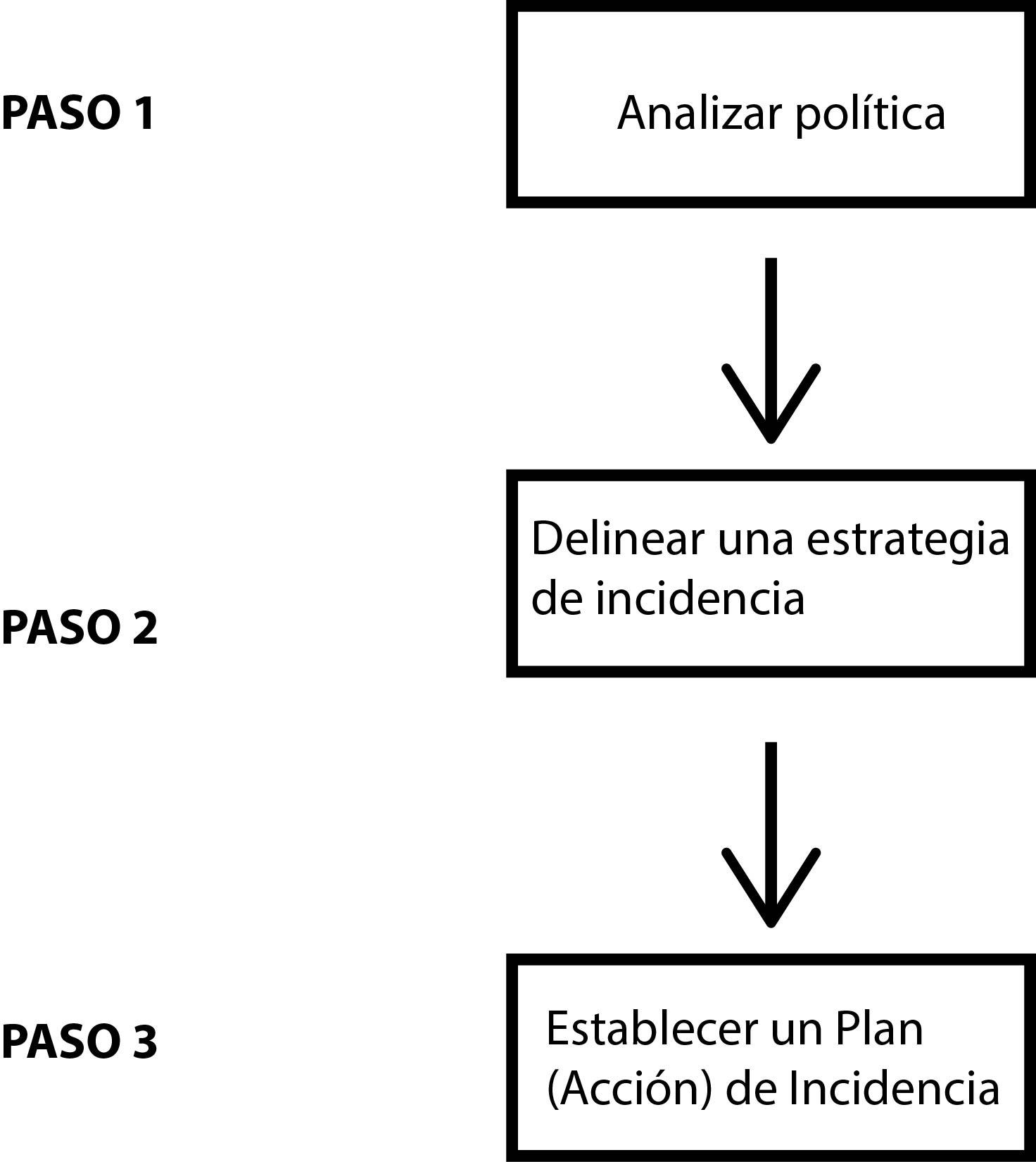 INCIDENCIA POLÍTICA | material de apoyo